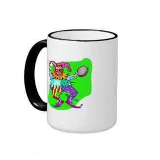 Tambourine Jester mug