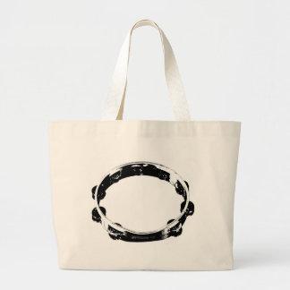 Tambourine Large Tote Bag