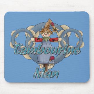 Tambourine Man Mouse Pad