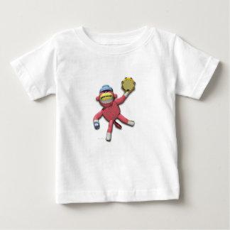 Tambourine Monkey Baby T-Shirt