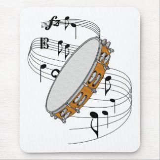 Tambourine Mouse Pad