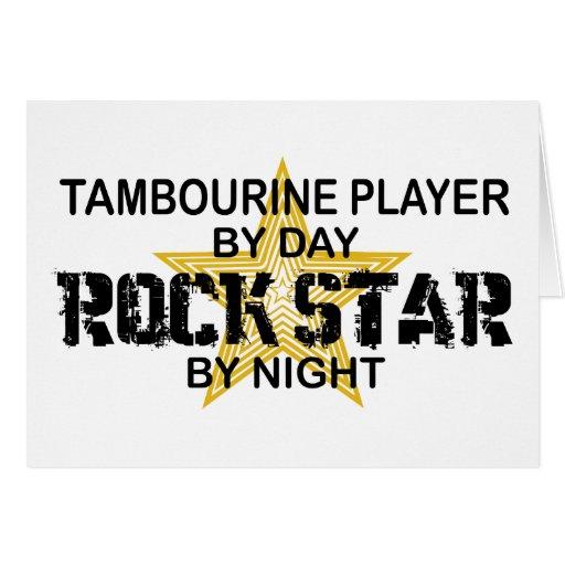 Tambourine Rock Star by Night Cards