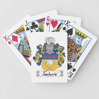 Tamburini Family Crest Card Decks