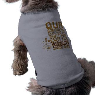 Tamburlaine Swords Quote (Colour) Pet T Shirt
