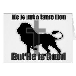 Tame Lion Card