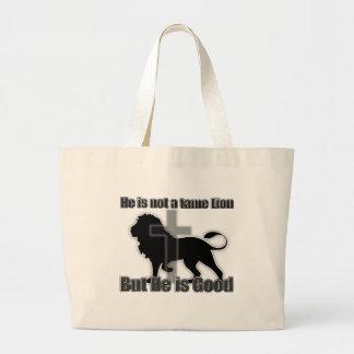 Tame Lion Large Tote Bag