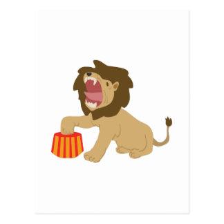 Tame Lion Postcard