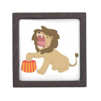 Tame Lion Premium Keepsake Box