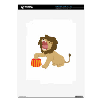Tame Lion Skins For iPad 2