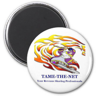 Tame the net 2 inch round magnet