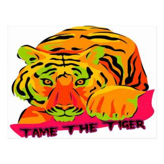 Tame the Tiger Postcard