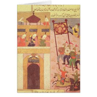 Tamerlane  Besieging Urganj Card