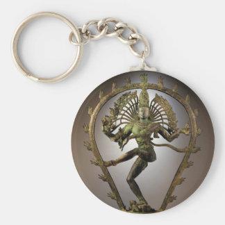 Tamil de Shiva de la deidad hindú el transformador Llavero Redondo Tipo Pin