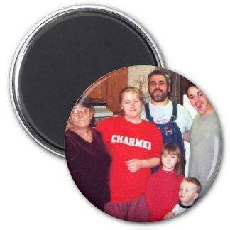 TamiMymyMichaelPaulKristenAnthony 2 Inch Round Magnet