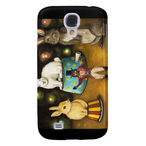 Taming Of The Giant Bunnies Galaxy S4 Case
