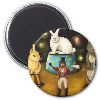 Taming Of The Giant Bunnies Magnet