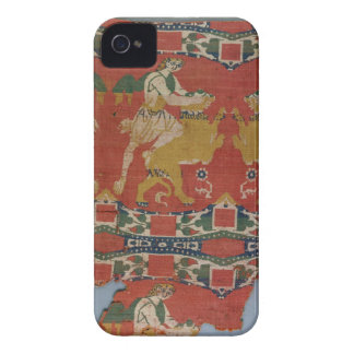 Taming of the Wild Animal, Byzantine tapestry frag iPhone 4 Case