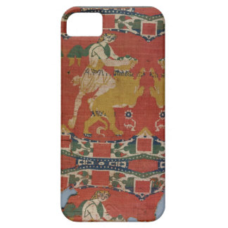 Taming of the Wild Animal, Byzantine tapestry frag iPhone SE/5/5s Case