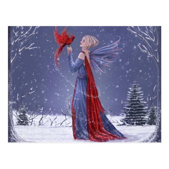 Taming Winter Postcard