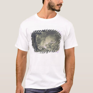 Tamino pursued by a giant serpent T-Shirt