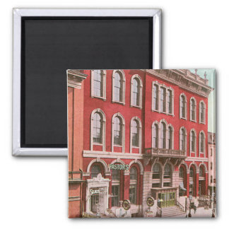 Tammany Hall 2 Inch Square Magnet