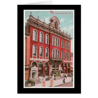 Tammany Hall Card
