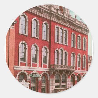 Tammany Hall Classic Round Sticker