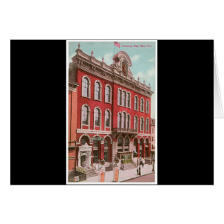 Tammany Hall, New York Card