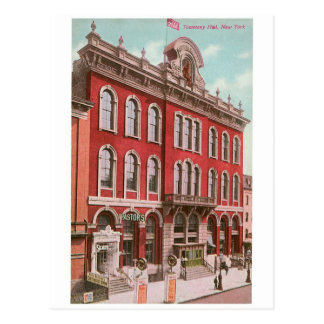 Tammany Hall, New York Postcards