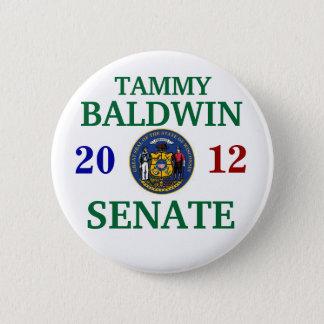 TAMMY BALDWIN FOR SENATE PINBACK BUTTON