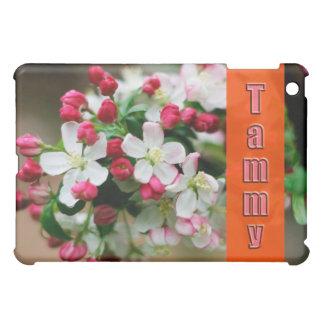 TAMMY Customized Name Crabapple Blossoms Ipad Case