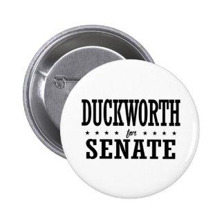 Tammy Duckworth para el senado 2016 Pin Redondo De 2 Pulgadas