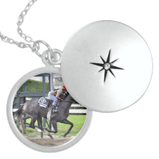 Tammy Fox riding for Dale Romans Locket Necklace