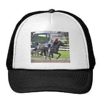 Tammy Fox riding for Dale Romans Trucker Hat