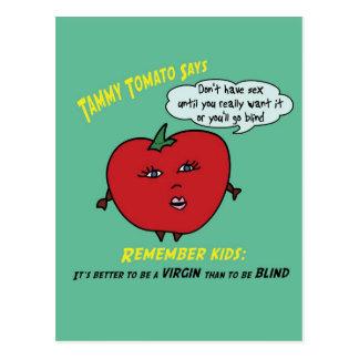 Tammy Tomato Postcard