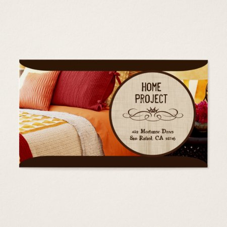 Modern Colourful Bed and Breakfast Business Cards Template