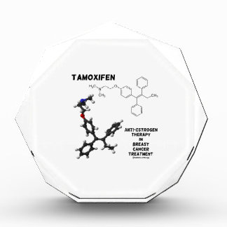 Tamoxifen Anti-Estrogen Therapy In Breast Cancer Acrylic Award