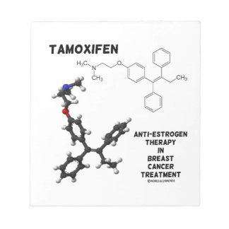 Tamoxifen Anti-Estrogen Therapy In Breast Cancer Notepads