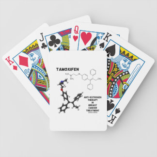 Tamoxifen Anti-Estrogen Therapy In Breast Cancer Deck Of Cards