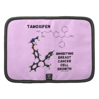 Tamoxifen Inhibiting Breast Cancer Cell Growth Folio Planner