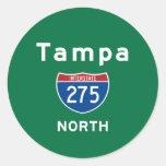 Tampa 275 round stickers