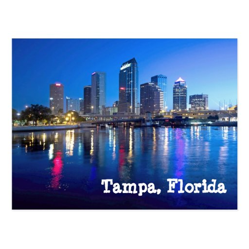 Tampa Bay at dawn Post Cards