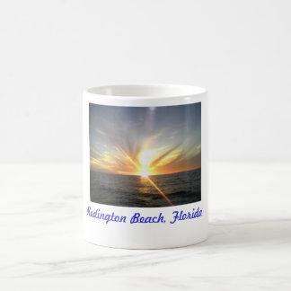 Tampa Bay Beach Sunset, Redington Beach, Florida Coffee Mug
