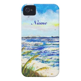 Tampa Bay Florida Beach Sunshine Skyway Bridge iPhone 4 Cases