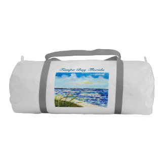 Tampa Bay Florida Beach Sunshine Skyway Bridge Gym Bag