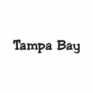 Tampa Bay Florida FL Shirt - Customizable too !!! Embroidered Polo Shirt