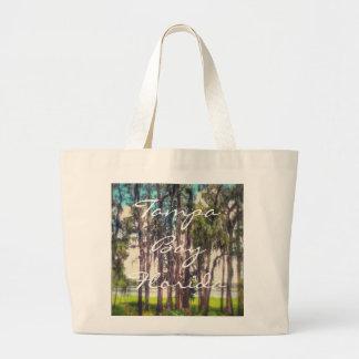 Tampa Bay Florida Jumbo Tote