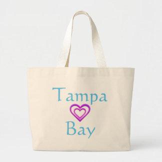 Tampa Bay Heart Jumbo Tote