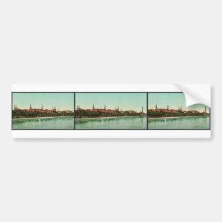 Tampa Bay Hotel classic Photochrom Bumper Stickers