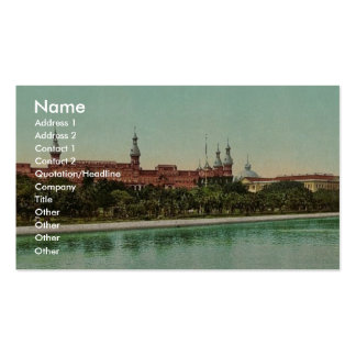 Tampa Bay Hotel classic Photochrom Double-Sided Standard Business Cards (Pack Of 100)